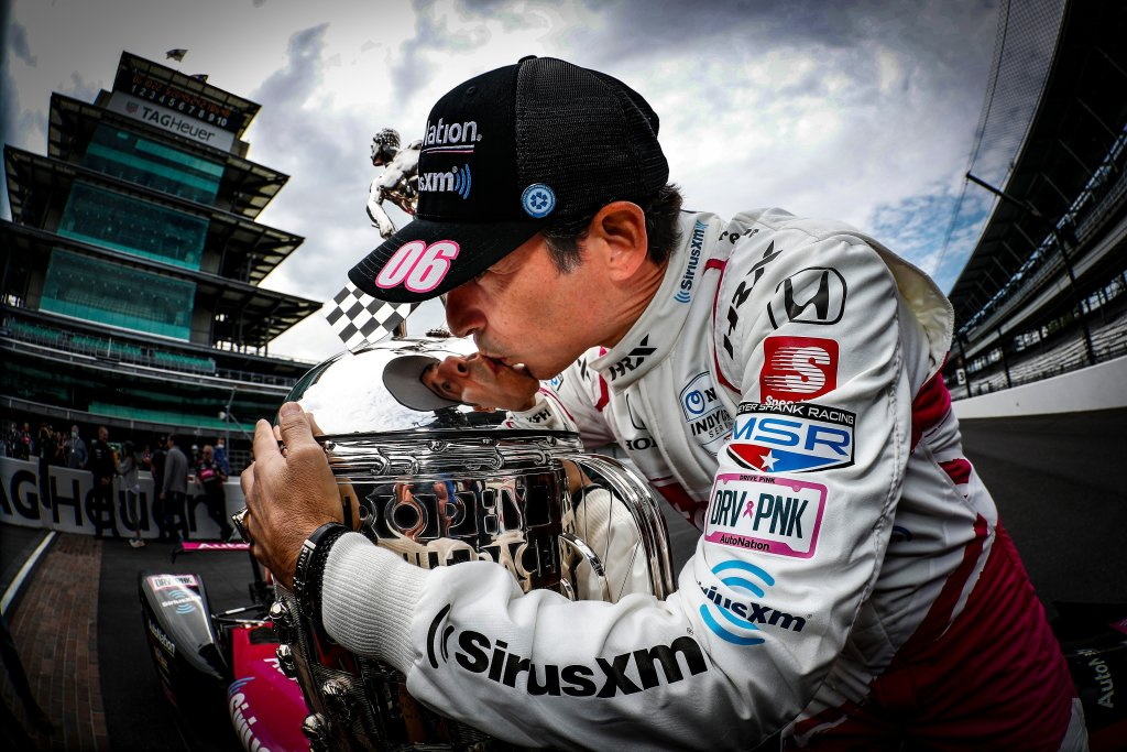 Castroneves Wins Fourth Indy 500