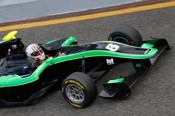 2014 GP3 Series Test 1. Estoril, Portugal.  Thursday 19 March 2015. Alex Fontana (SUI, Status Grand Prix)  Photo: Sam Bloxham/GP3 Series Media Service. ref: Digital Image _SBL0794