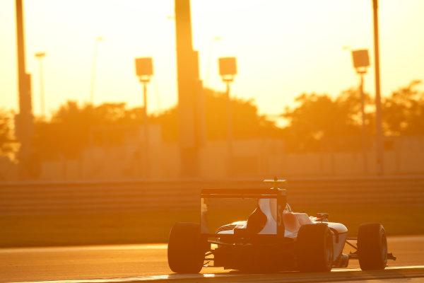 2014 GP3 Series Test 3.   Yas Marina Circuit, Abu Dhabi, United Arab Emirates. Saturday 29 November 2014. Andrea Pizzitola (FRA, Arden International)  Photo: Sam Bloxham/GP3 Series Media Service. ref: Digital Image _14P2981