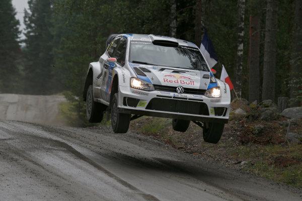 2013 FIA World Rally Championship Round 08-Rally Finland 31/7-3/8 2013. Jari-Matti Latvala, Ford WRC, Action  Worldwide Copyright: McKlein/LAT