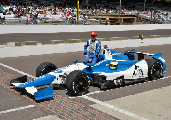 17-18 May, 2014, Indianapolis, Indiana, USA #18 Carlos Huertas, Dale Coyne Racing ©2014 Dan R. Boyd LAT Photo USA
