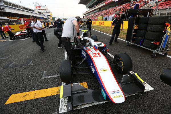2014 GP3 Series Round 1 - Race 2. Circuit de Catalunya, Barcelona, Spain. Sunday 11 May 2014. Matheo Tuscher (SUI, Jenzer Motorsport)  Photo: Malcolm Griffiths/GP3 Series Media Service. ref: Digital Image A50A3329