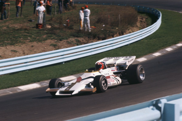 1971 United States Grand Prix.  Watkins Glen, New York, USA. 1st-3rd October 1971.  Jo Siffert, BRM P160, 2nd position.  Ref: 71USA11. World Copyright: LAT Photographic
