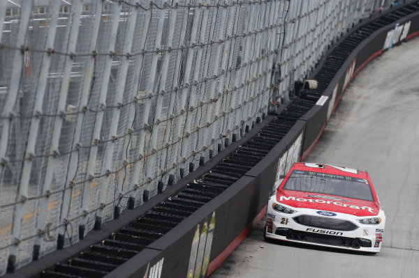 Monster Energy NASCAR Cup Series Bass Pro Shops NRA Night Race Bristol Motor Speedway, Bristol, TN USA Friday 18 August 2017 Ryan Blaney, Wood Brothers Racing, Motorcraft/Quick Lane Tire & Auto Center Ford Fusion World Copyright: Matthew T. Thacker LAT Images