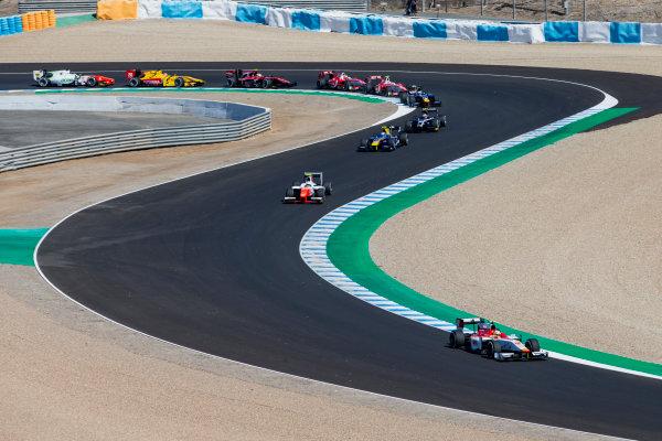2017 FIA Formula 2 Round 10. Circuito de Jerez, Jerez, Spain. Sunday 8 October 2017. Alex Palou (JPN, Campos Racing).  Photo: Zak Mauger/FIA Formula 2. ref: Digital Image _X0W2724
