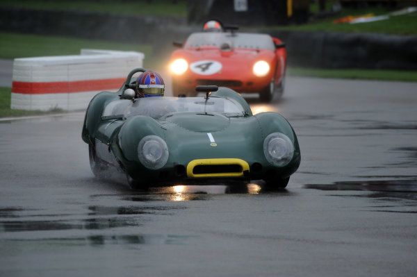 2017 Goodwood Revival, Goodwood Estate, West Sussex, England.  8th-10th September 2017 Sussex Trophy Oliver Bryant Lotus 15 World Copyright: Jeff Bloxham/LAT Images, Ref: Digital Image