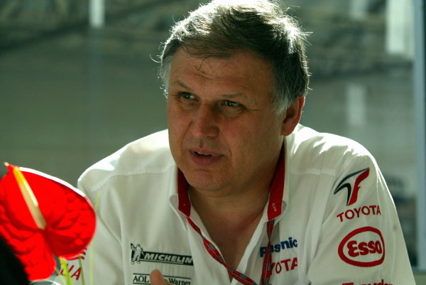 Norbert Kreyer (GER) Toyota Senior General Manager of Race and Test Engineering
