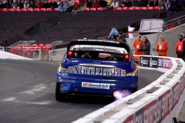 2007 Race of Champions - SundayWembley Stadium, London. 14th December.Team England in the Ford Focus WRC car.World Copyright: Malcolm Griffiths/LAT Photographicref: Digital Image YY2Z2470
