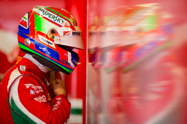 Circuit de Barcelona Catalunya, Barcelona, Spain. Monday 13 March 2017. Antonio Fuoco (ITA, PREMA Racing).  Photo: Alastair Staley/FIA Formula 2 ref: Digital Image 580A8843