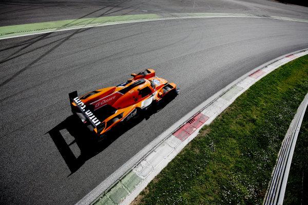 2017 European LeMans Series Monza, Italy. 28th-29th March 2017 Memo Rojas (MEX) / Ryo Hirakawa (JPN) / L?o Roussel (FRA) - G-DRIVE RACING - Oreca 07 - Gibson Copyright - JEP/LAT Images