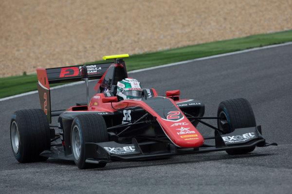 2017 GP3 Series Testing Estoril, Portugal. Wednesday 22 March 2017 Nirei Fukuzumi (JAP, ART Grand Prix. Action.  Photo: Alastair Staley/GP3 Series Media Service ref: Digital Image 585A1173