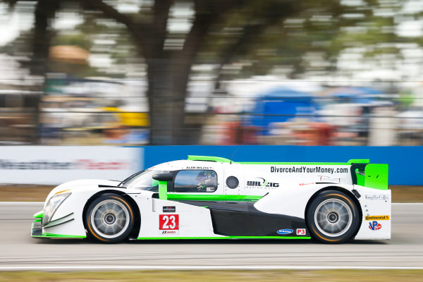 2017 IMSA Prototype Challenge Sebring International Raceway, Sebring, FL USA Friday 17 March 2017 23, Alan Wilzig, P3, M, Ginetta LMP3 World Copyright: Jake Galstad/LAT Images ref: Digital Image lat-galstad-SIR-0317-14954