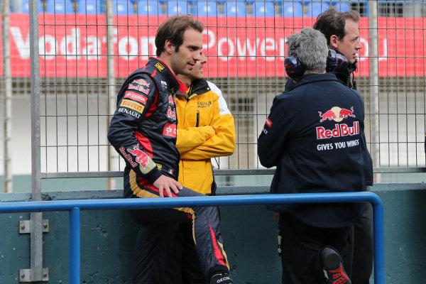 Jean-Eric Vergne (FRA) Scuderia Toro Rosso. Formula One Testing, Jerez, Spain, Day One, Tuesday 28 January 2014.