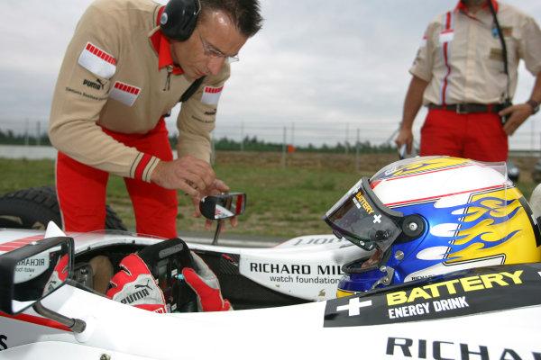 2005 GP2 Series - GermanyHockenheimring, Hockenheim22th - 24th July 2005Friday PracticeNico Rosberg (D, ART GP). Portrait. World Copyright: GP2 Series Media Service ref: Digital Image Only