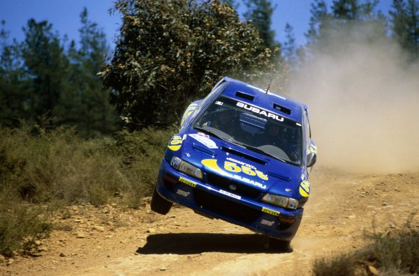 1998 World Rally Championship.Australian Rally, Australia. 5-8 November 1998.Colin McRae/Nicky Grist (Subaru Impreza WRC), 4th position.World Copyright: Coates/LAT PhotographicRef: 35mm transparency 98RALLY15