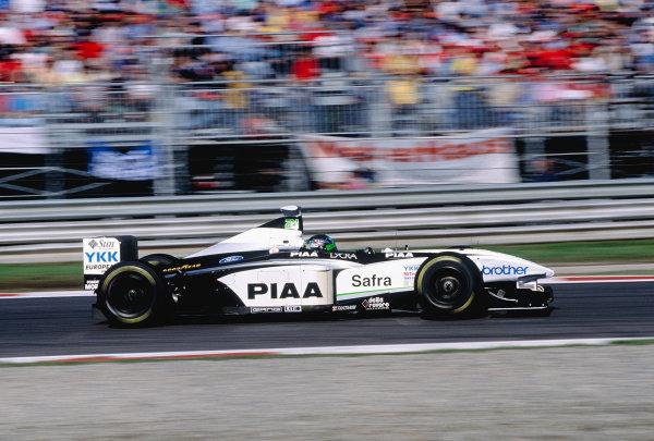 Monza, Italy. 11-13 September 1998.Toranosuke Takagi (Tyrrell 026 Ford).Ref-98 ITA 64.World Copyright - Steven Tee/LAT Photographic