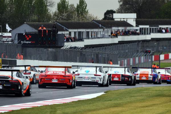 Start of the race, Porsche