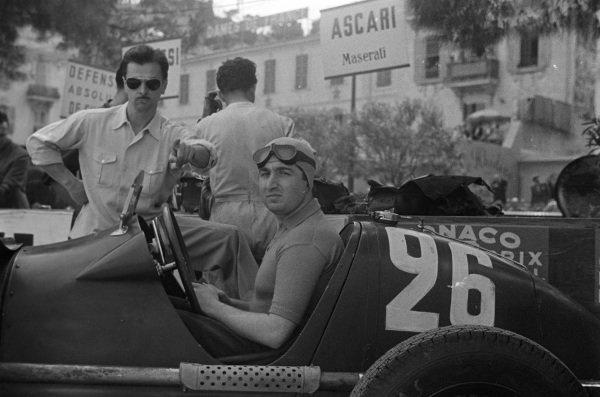 Alberto Ascari, Maserati 4CL.