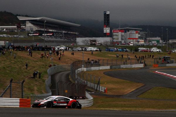 Narain Karthikeyan, Nakajima Racing Honda NSX-GT.