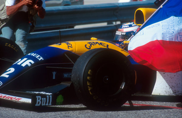 1993 Portuguese Grand Prix.