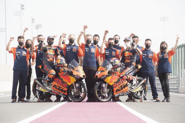 Red Bull KTM Tech 3 team.
