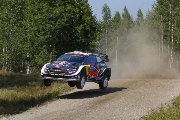 Elfyn Evans flying high on Rally Finland