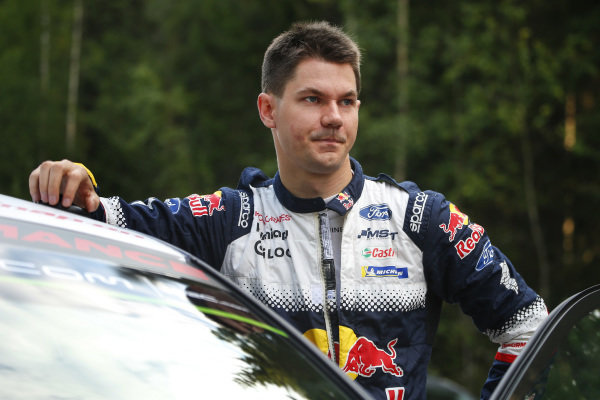 Teemu Suninen is a local driver with every chance of of securing a maiden WRC victory on Rally Finland
