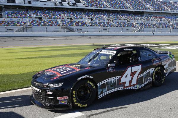 #47: Kyle Weatherman, Mike Harmon Racing, Chevrolet Camaro Picture Perfect