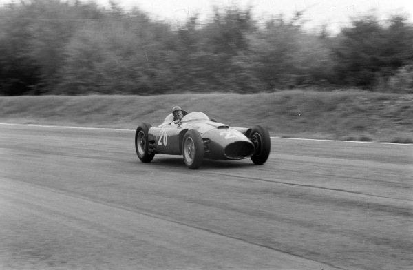 Peter Collins/Juan Manuel Fangio, Ferrari D50.