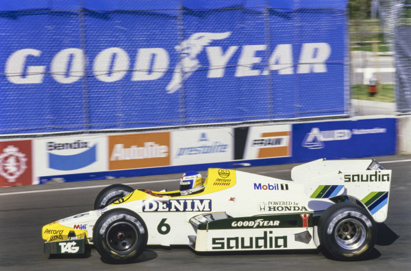 Keke Rosberg, Williams FW09 Honda.