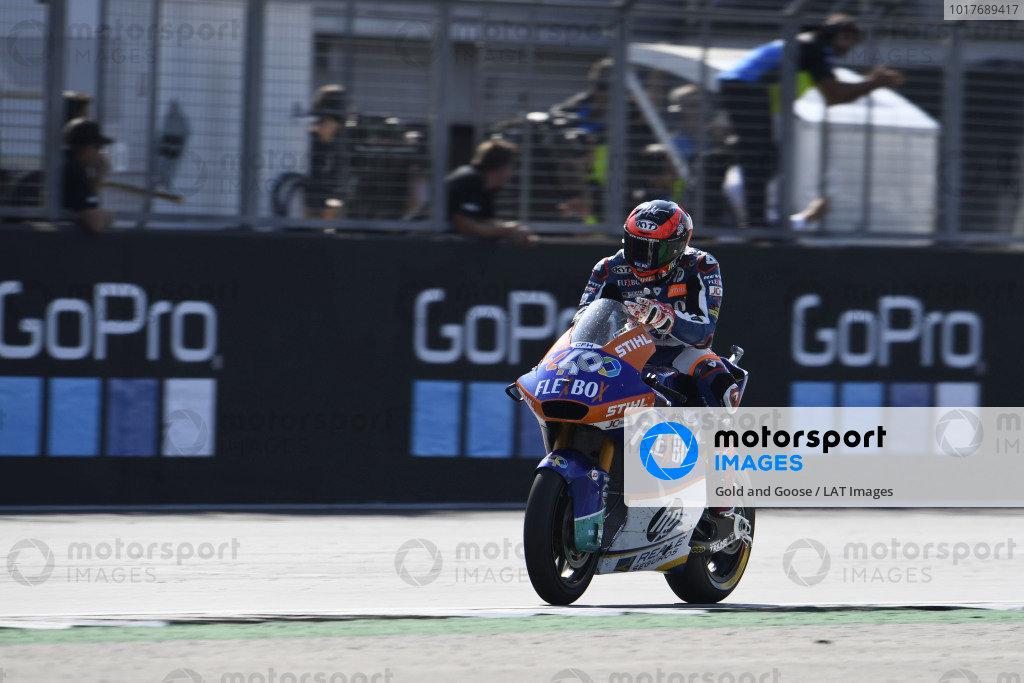 Race winner Augusto Fernandez, Pons HP40