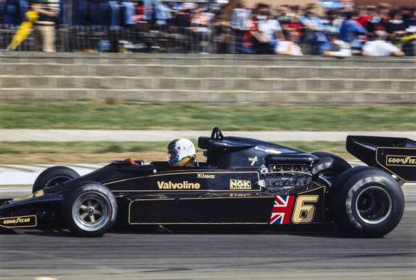 Gunnar Nilsson, Lotus 78 Ford.