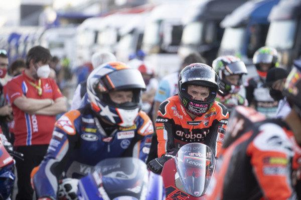 Scott Redding, Aruba.It Racing - Ducati on MWC square Inauguration