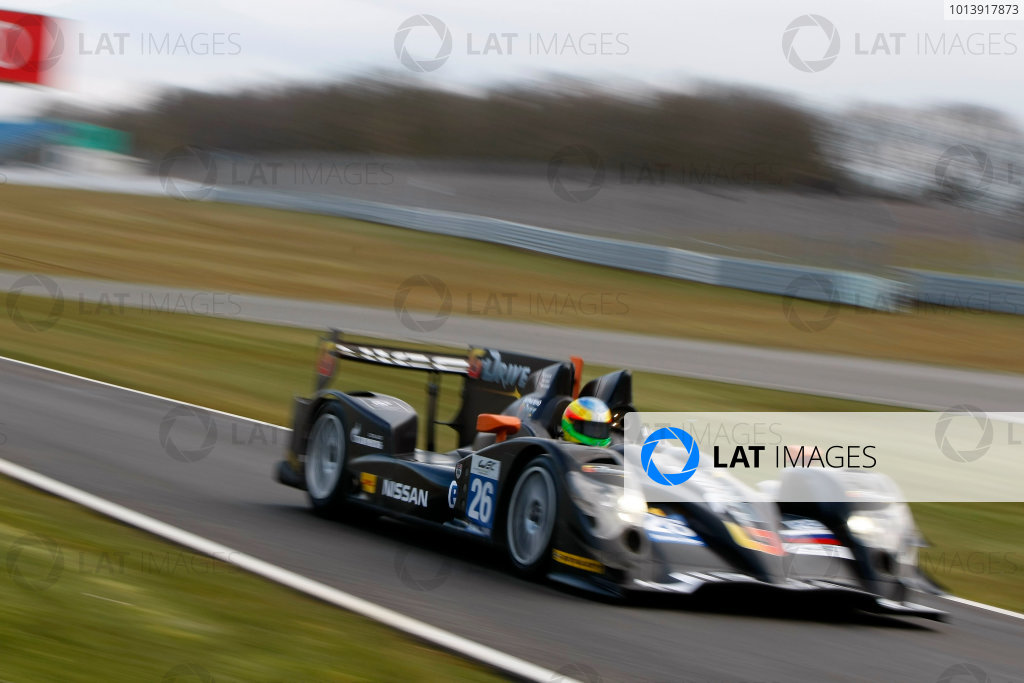2013 FIA WEC Championship, Silverstone, Northamptonshire. 12th - 14th April 2013. Roman Rusinov / John Martin / Mike Conway G Drive Racing Oreca 03 Nissan World Copyright: Ebrey / LAT Photographic.
