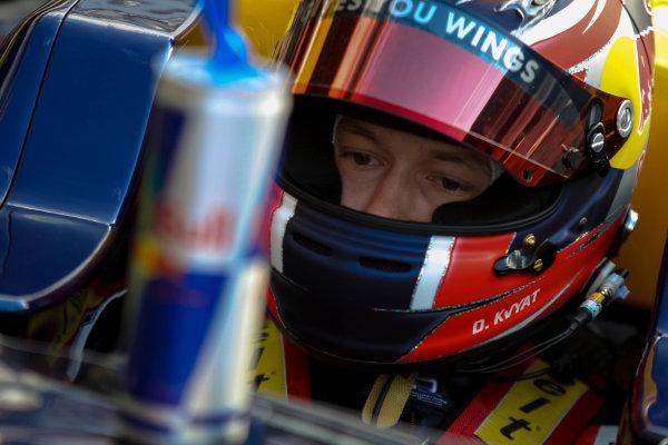2013 GP3 Series. Round 1.  Circuit de Catalunya, Barcelona, Spain.  12th May Sunday Race 02 Daniil Kvyat (  Portrait  World Copyright: Malcolm Griffiths/GP3 Media Service.  Ref: Digital ImageC76D5631.JPG