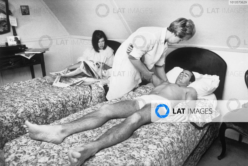 Brands Hatch, Kent, Great Britain. 16 July 1966.