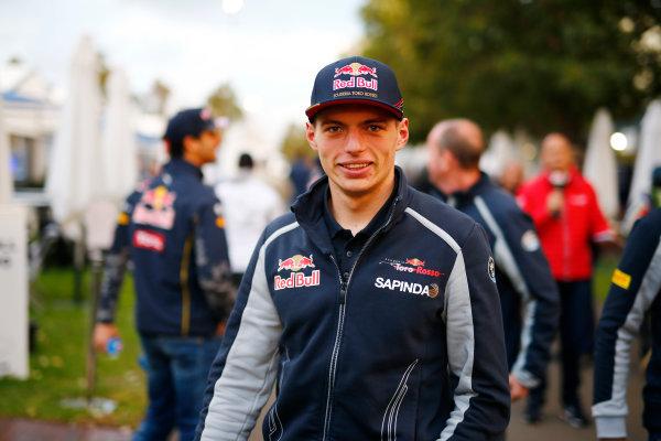 Albert Park, Melbourne, Australia. Friday 18 March 2016. Daniil Kvyat, Red Bull Racing. World Copyright: Andrew Hone/LAT Photographic ref: Digital Image _ONZ2208