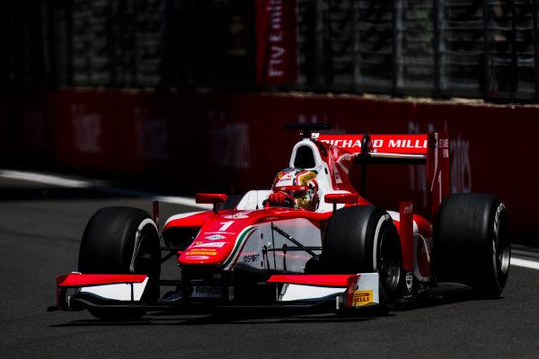 2017 FIA Formula 2 Round 4. Baku City Circuit, Baku, Azerbaijan. Friday 23 June 2017. Charles Leclerc (MCO, PREMA Racing)  Photo: Zak Mauger/FIA Formula 2. ref: Digital Image _54I9815