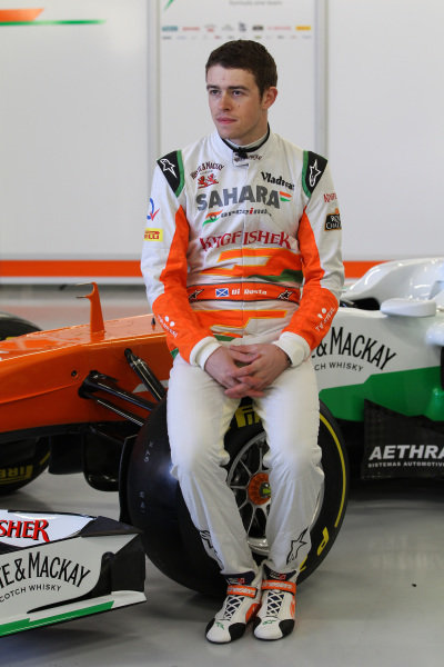 Paul di Resta (GBR) Force India F1. Force India VJM06 Launch, Silverstone, England, 1 February 2013.