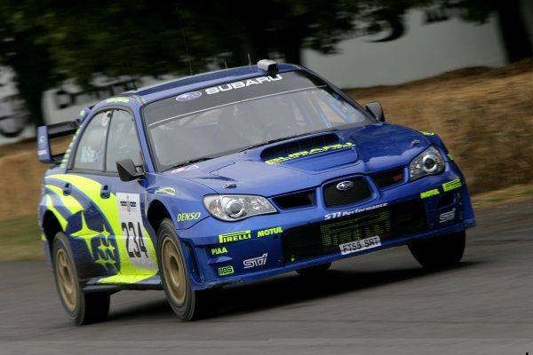 2006 Goodwood Festival of Speed. Goodwood Estate, West Sussex. 7th - 9th July 2006. Colin McRae, Subaru Impreza WRC. World Copyright: Gary Hawkins/LAT Photographic. ref: Digital Image Only.