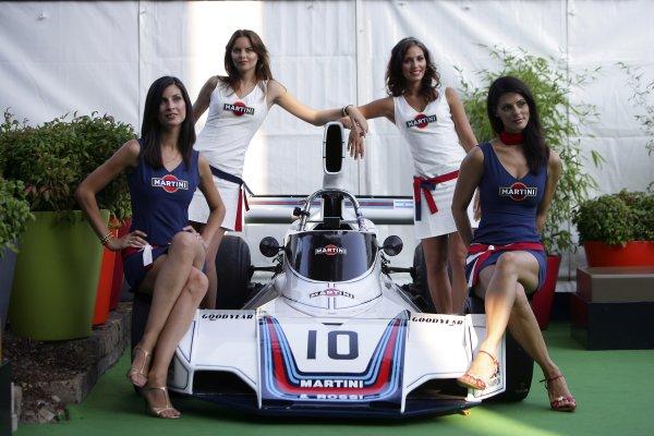 Celebrating 50 years of Martini Racing in motorsports.