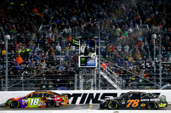 Monster Energy NASCAR Cup Series First Data 500 Martinsville Speedway, Martinsville VA USA Sunday 29 October 2017 Kyle Busch, Joe Gibbs Racing, M&M's Halloween Toyota Camry World Copyright: Matthew T. Thacker LAT Images