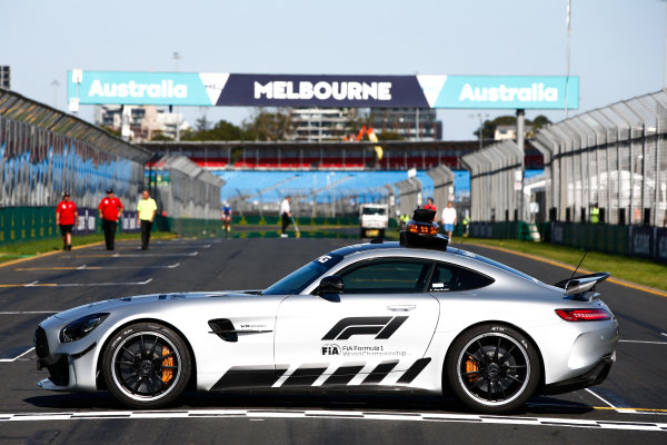 FIA Formula 1 Mercedes-AMG GTR Safety car.