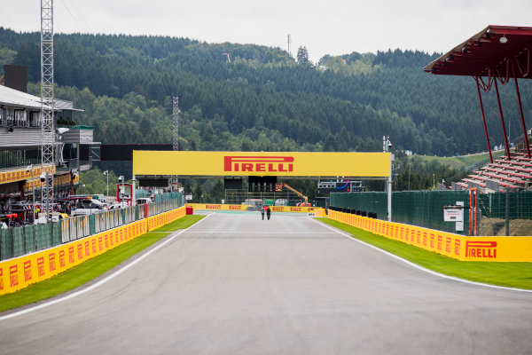 2017 GP3 Series Round 5.  Spa-Francorchamps, Spa, Belgium. Thursday 24 August 2017. A view of the track. Photo: Zak Mauger/GP3 Series Media Service. ref: Digital Image _56I0088