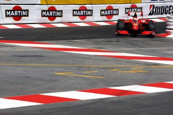 Kimi Raikkonen (FIN) Ferrari F2009. Formula One World Championship, Rd 6, Monaco Grand Prix, Qualifying Day, Monte-Carlo, Monaco, Saturday 23 May 2009.