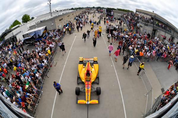 Indy 500 Race Day