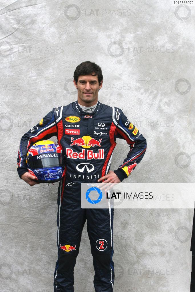 Albert Park, Melbourne, Australia24th March 2011.Mark Webber, Red Bull Racing RB7 Renault. Portrait. World Copyright: LAT Photographicref: Digital Image1_LC2495