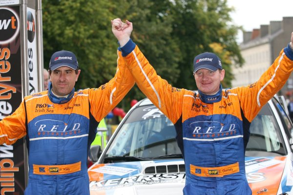 2007 British Rally Championship,Ulster Rally, Northern Ireland,31st August/1st September 2007,Eugene Donnelly/Paul Kiely,World Copyright: Ebrey/LAT Photographic
