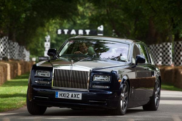 2012 Goodwood Festival of Speed.Goodwood Estate, West Sussex, England.28th June - 1st July 2012.Rolls Royce. Action. World Copyright:  Daniel Kalisz/LAT Photographic Ref: Digital Image IMG_2304