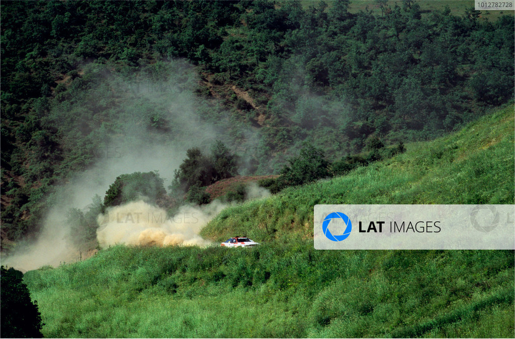1990 Rally of New Zealand.